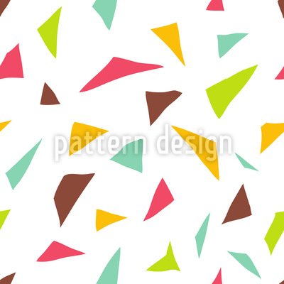 Triangular Confetti Seamless Vector Pattern