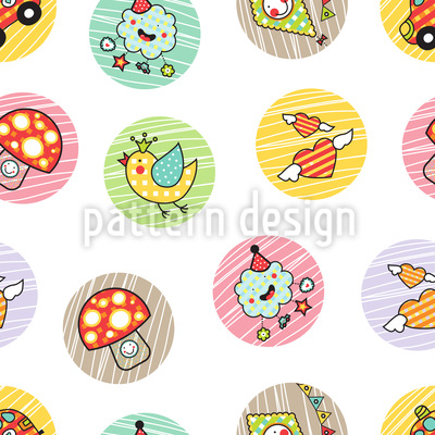 Kids Outdoor Fun Repeat Pattern