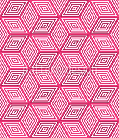 3D Wuerfel Muster Design