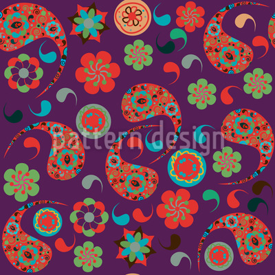 Pasileys Have A Party Vector Pattern