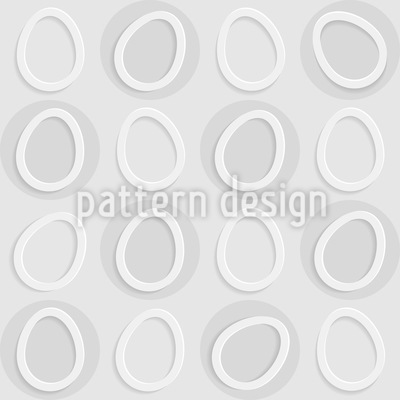 Eggs In Circles Pattern Design