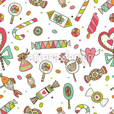 Sweet Temptations Seamless Vector Pattern Design