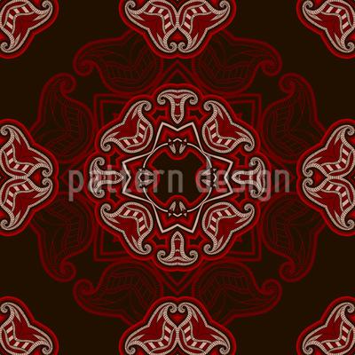 Wild Orient Vector Ornament
