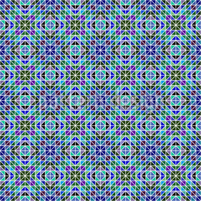 Iridescent Mosaic Vector Design