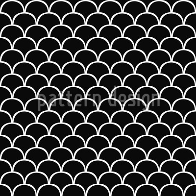 Halbkreis Rätsel Musterdesign