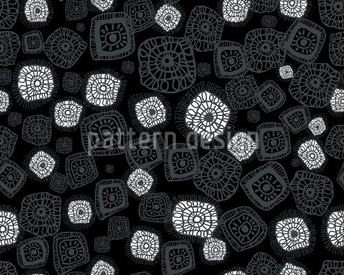 Figuren Unter Dem Mikroskop Vektor Design