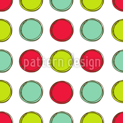 Game Board With Circles Repeat Pattern