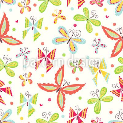 Patchwork Schmetterlinge Rapport