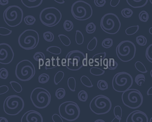 Swirly Curly Pattern Design