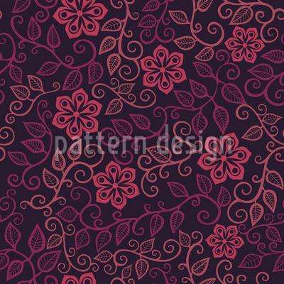 Starflowers At Midnight Design Pattern