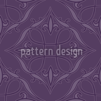 Renaissance In Violett Rapportmuster