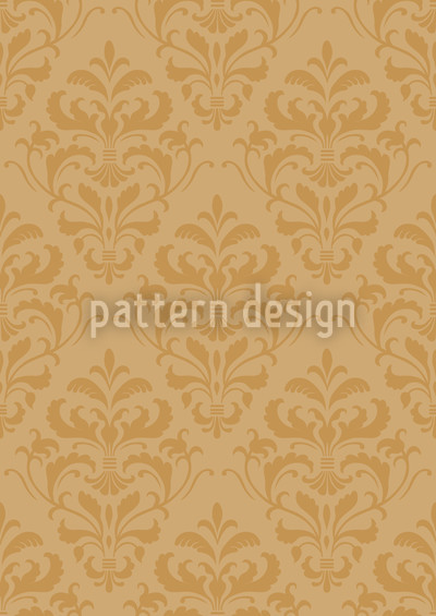 Gold Barock Musterdesign