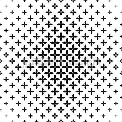 Kreuzblumen Formation Vektor Muster