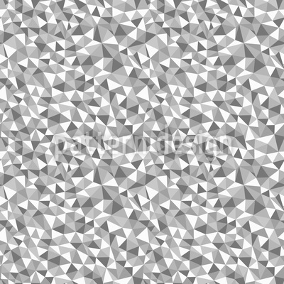 Mosaic Monochrome Seamless Vector Pattern Design