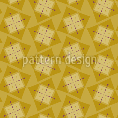 Scottish Squares Vector Pattern