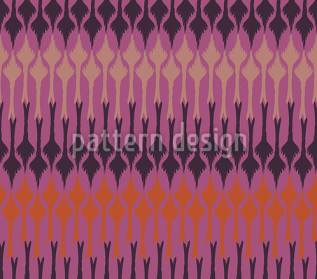 Melancholic Tips Of A Fountain Pen Pattern Design