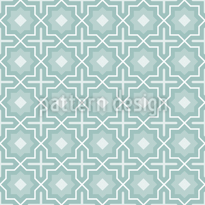 Winter Stars Of The Orient Vector Pattern
