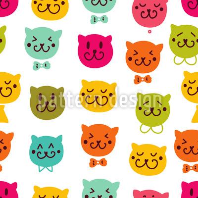 Miau Miau Vektor Ornament