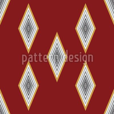 ダイヤモンド・レイン シームレスなベクトルパターン設計