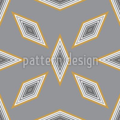 Diamond Formation Vector Ornament