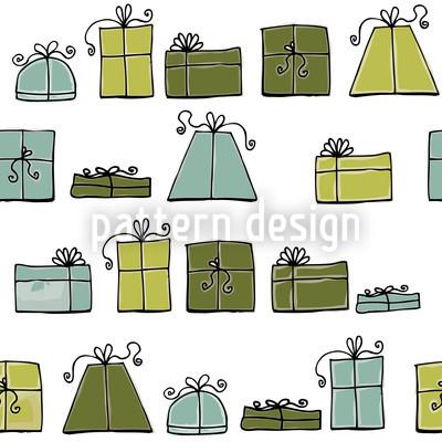 Soco Desejando Verde Design de padrão vetorial sem costura