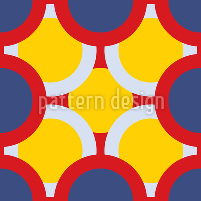 Circles Hide The Sun Pattern Design