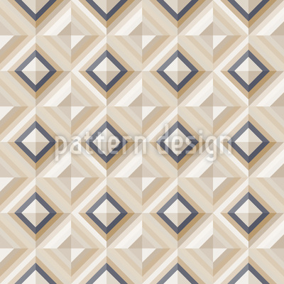 Elegant Diamond Dimension Vector Pattern