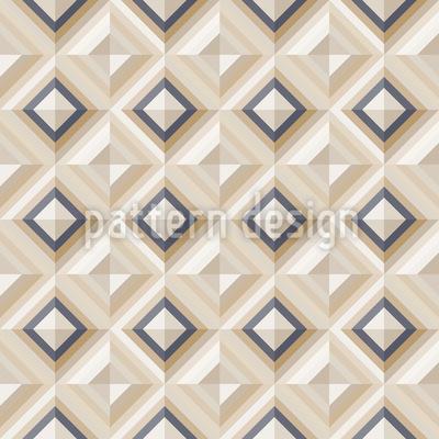 Elegante Karo Dimension Vektor Muster