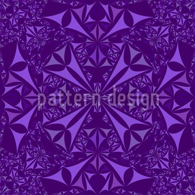 Amethyst Kaleidoskop Vektor Design
