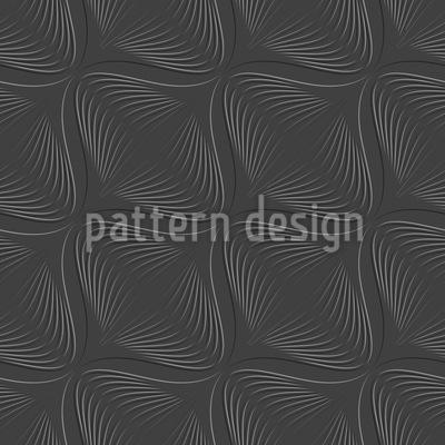 Lampion Monochrome Seamless Vector Pattern Design