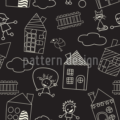 Leisure Fun With Chalks Design Pattern