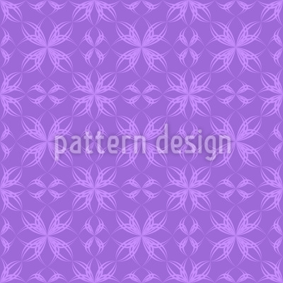 Amethyst Floral Repeat Pattern