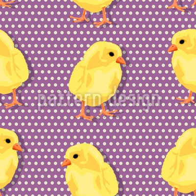 Chicks Dot Com Vector Ornament
