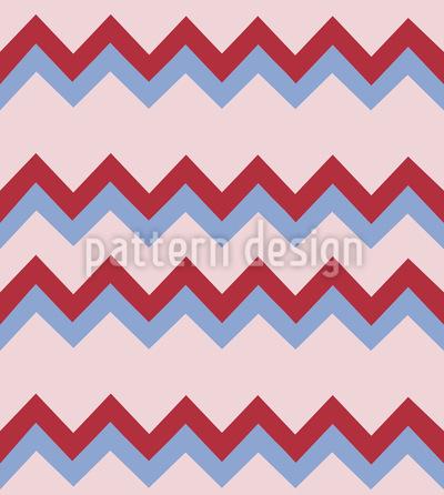 Leckeres Zickzack Muster Design