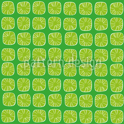 Lemon Drops Vector Ornament
