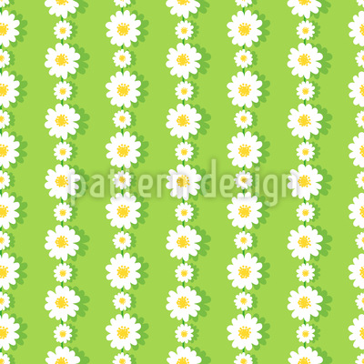 Daisies In Chaines Vector Pattern