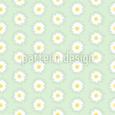Um Sonho Margarida Design de padrão vetorial sem costura