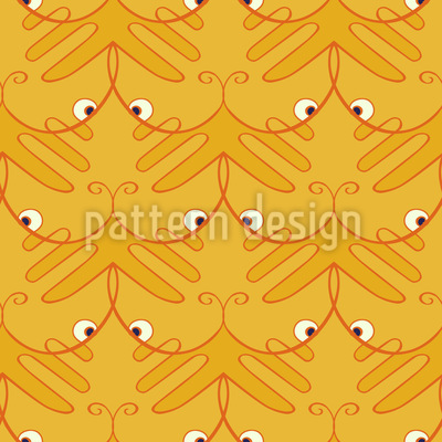 Tiger Paw Vector Pattern