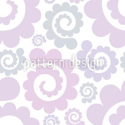 Romantische Spiralen Designmuster