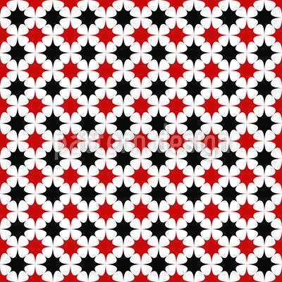 The Star Duet Pattern Design