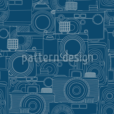 Camera Shop Seamless Vector Pattern Design