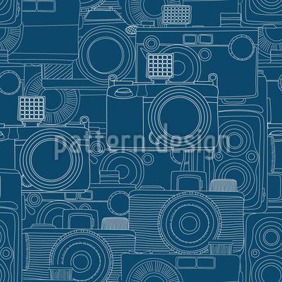 Kamera Shop Muster Design