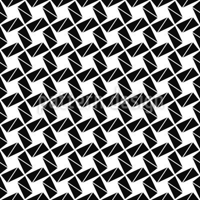 Rotation To The Square Seamless Pattern