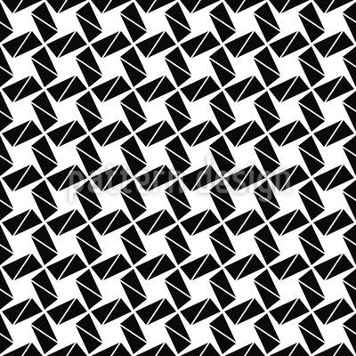 Rotation Zum Quadrat Nahtloses Muster