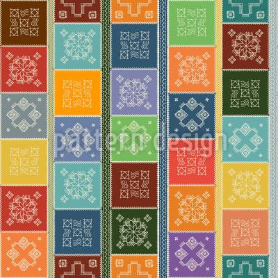 Doily Patchwork Design Pattern