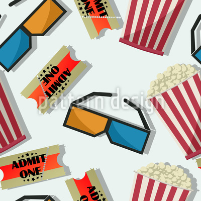 Popcorn In 3D Cinema Design Pattern
