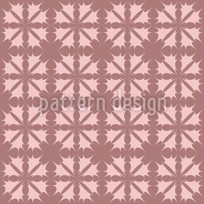 Stechblumen Romanze Muster Design