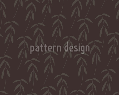 Baby Palms Vector Ornament