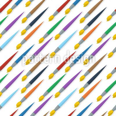 Pinsel Diagonal Rapportiertes Design