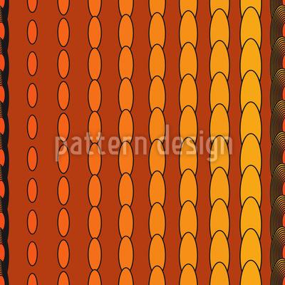 Oval Strip Seamless Pattern